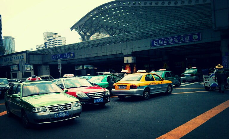 Китайские таксисты не говрят по-английски