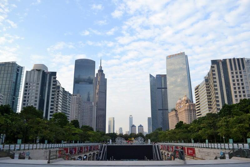 парки гуанчжоу