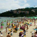 Китайский пляж или как отдыхают китайцы