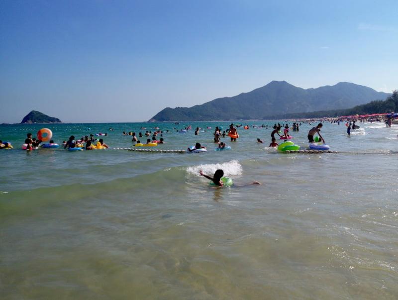 китайский пляж