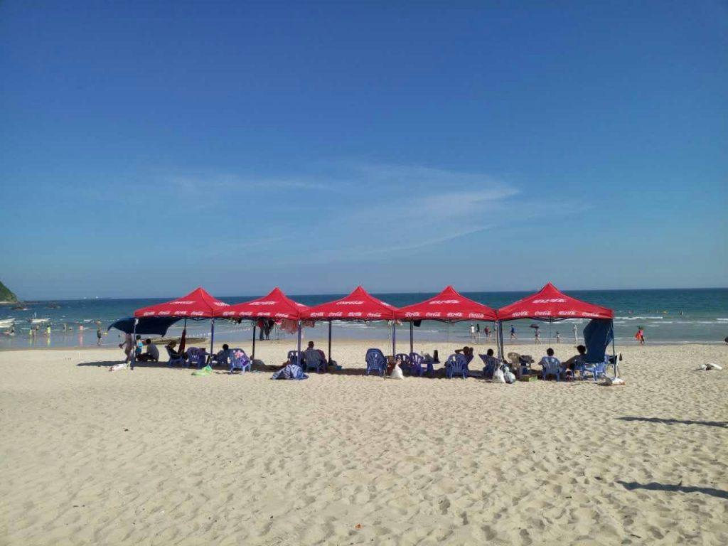 Пляж XiChong (Сичонг), Шэньчжэнь.