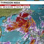 Все ждут Тайфун Нида в Гуанчжоу