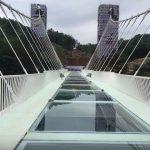 Стеклянный китайский мост был временно закрыт