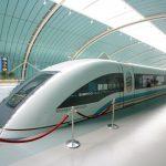 В Китае создают поезд на магнитной подушке