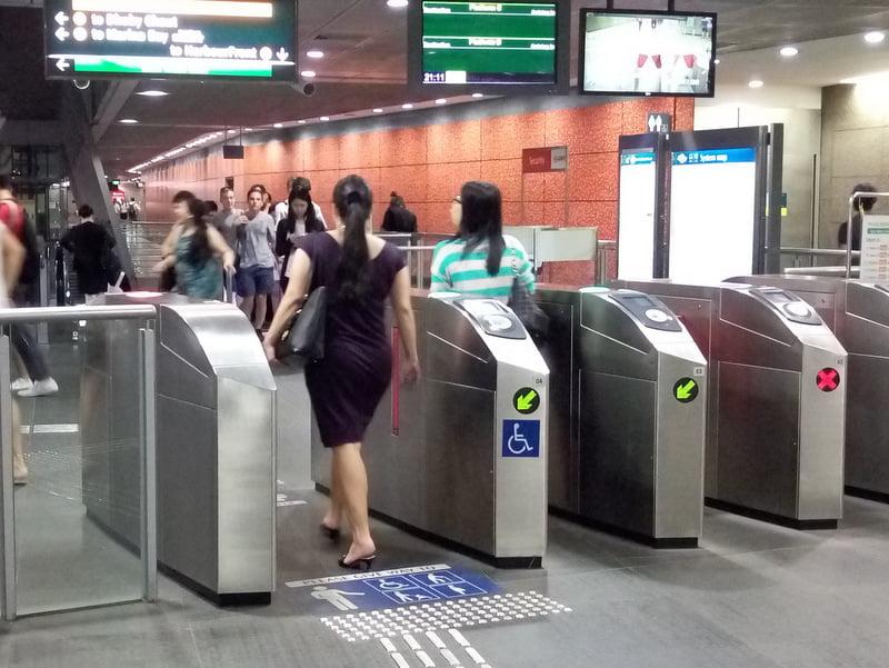 метро сингапура