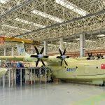 В Китае создали самый большой самолет-амфибию