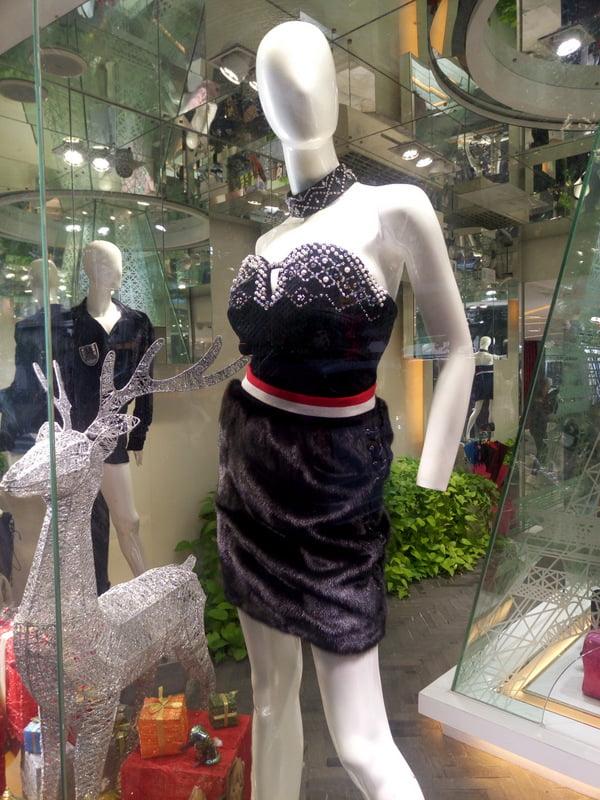 Китайская мода или что носят китаянки зимой
